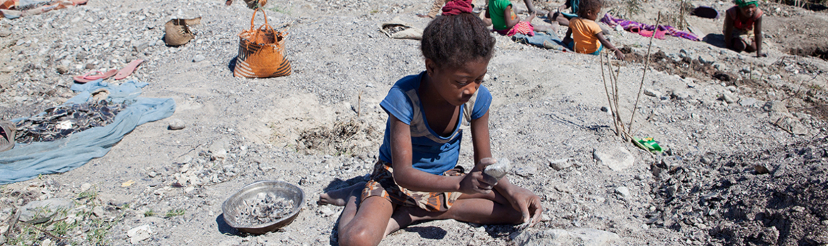 Children make up half of mica mining workforce in Madagascar